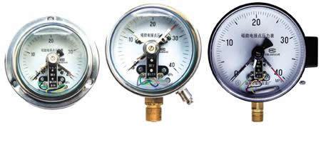 磁助电接点压力表_金湖天信仪表有限公司